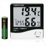 LCD Display Temperature and Humidity Meter with Alarm Clock Hygr