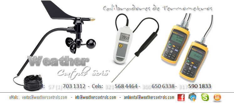 Weather Controls Calibradores de Termometros