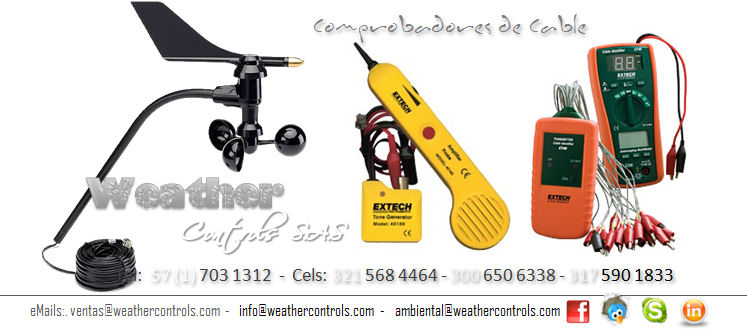 Weather Controls Comprobadores de Cable