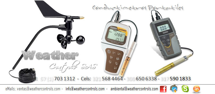 Weather Controls Conductimetros Portatiles