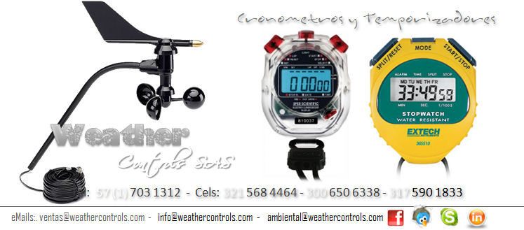 Weather Controls Cronometros y Temporizadores