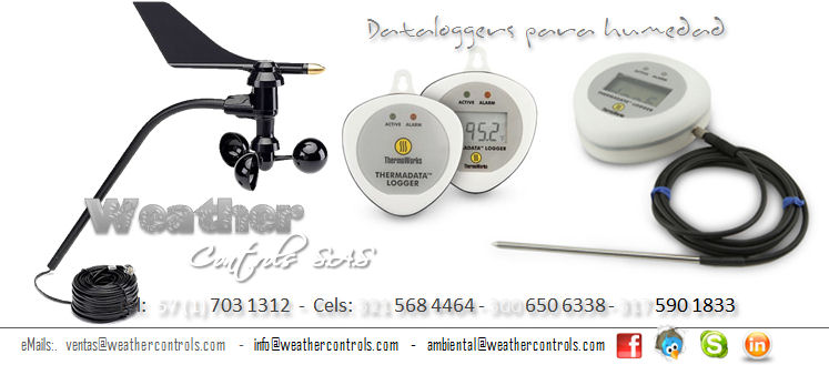Weather Controls Dataloggers Humedad
