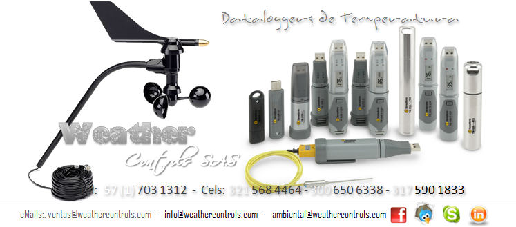 Weather Controls Dataloggers de Temperatura