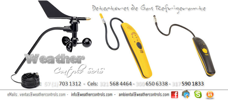 Weather Controls Detectores de Gas Refrigerante