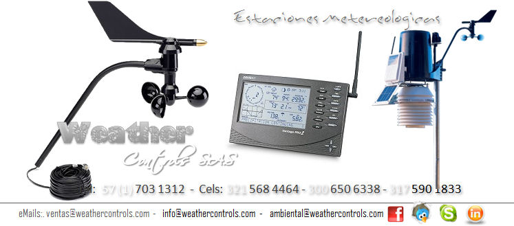Weather Controls Estaciones Metereologicas