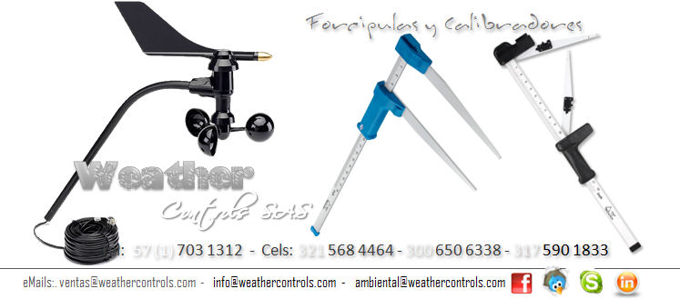 Weather Controls Forcipulas y Calibradores