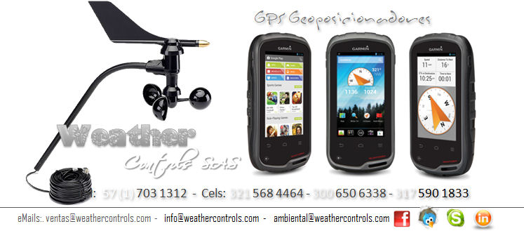 Weather Controls GPS Geoposicionadores