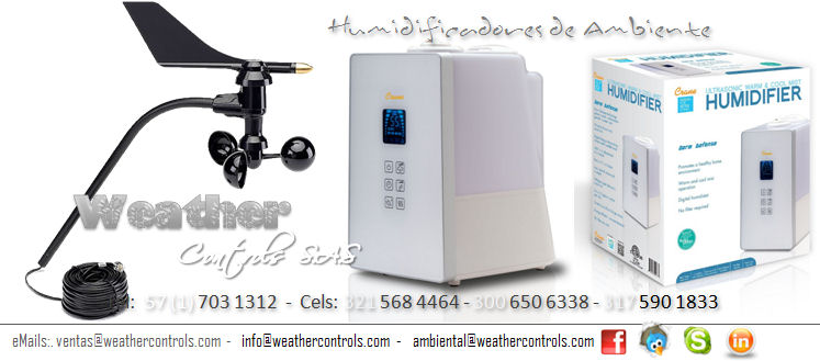 Weather Controls Humidificadores de Ambiente