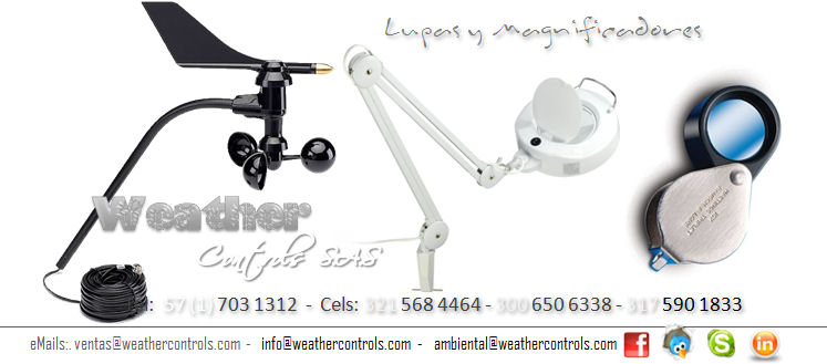Weather Controls Lupas y Magnificadores