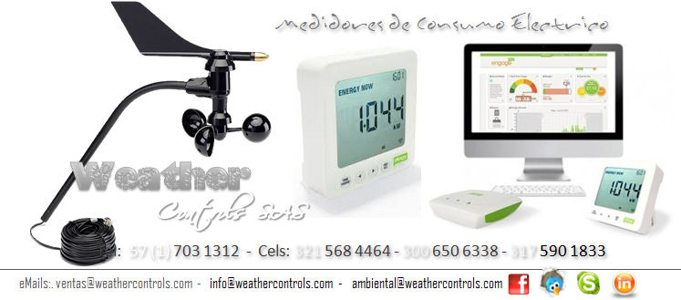 Weather Controls Medidores de Consumo Electrico