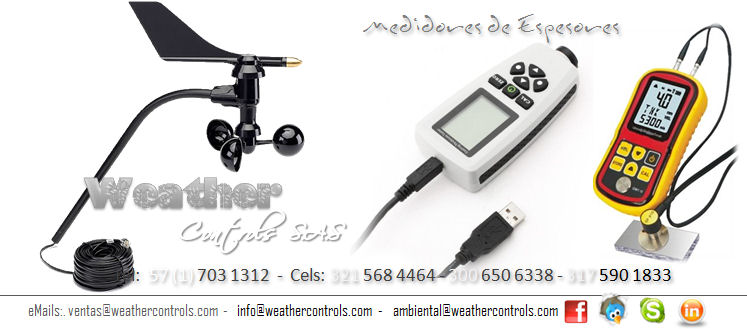 Weather Controls Medidores de Espesores