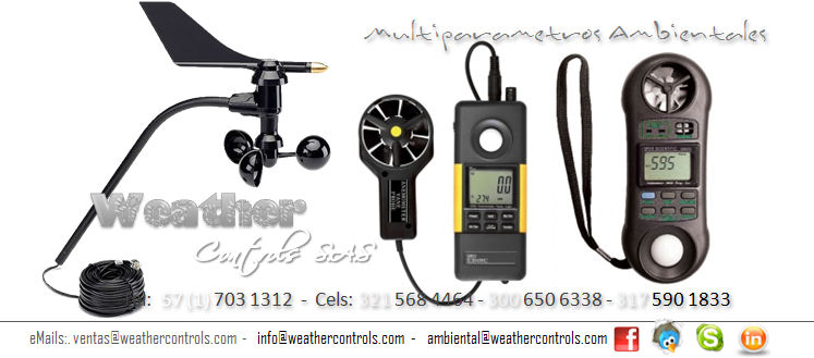 Weather Controls Multiparametros Ambientales