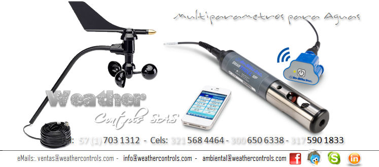 Weather Controls Multiparametros para Aguas
