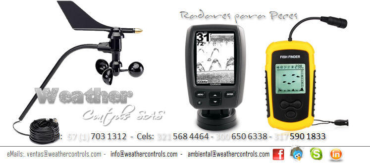 Weather Controls Radares para Peces