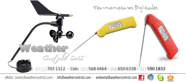 Weather Controls Termometros Digitales