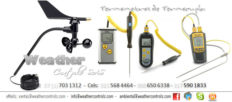 Weather Controls Termometros Termopar