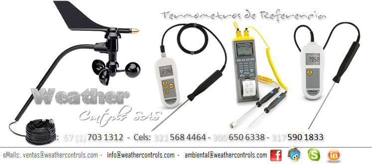 Weather Controls Termometros de Referencia
